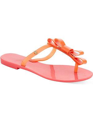 MELISSA T-bar bow sandals