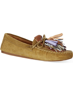 ISABEL MARANT Maple suede loafers