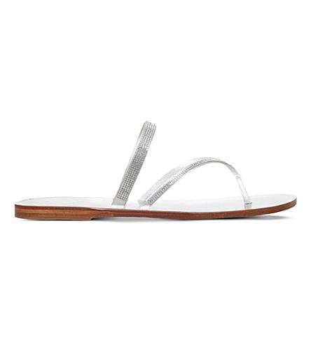 PEDRO GARCIA Ilsa embellished sandals (Silver