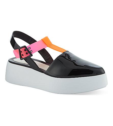 KENZO Flatform sandals (Orange