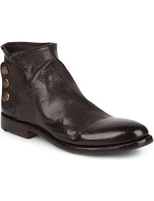 ALBERTO FASCIANI Perla 37018 leather ankle boots