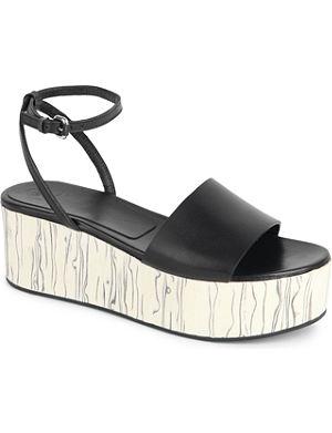 MCQ ALEXANDER MCQUEEN Lotta leather sandal