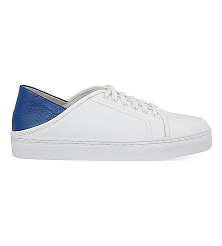 SENSO Avery III leather trainers (Blue