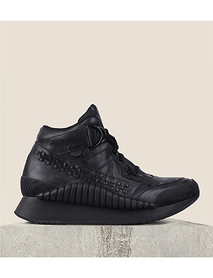 UNDERGROUND Nox high-top leather trainers