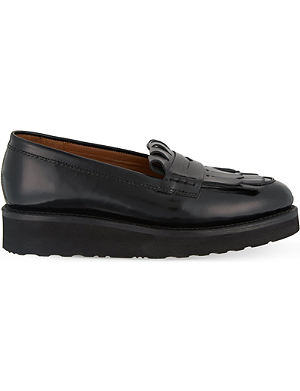 GRENSON Juno fringed loafers