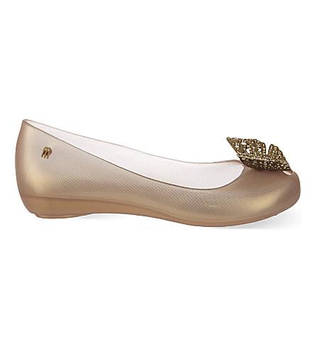 MELISSA Cinderella Ultragirl flats (Gold