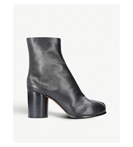 MAISON MARGIELA Tabi leather ankle boots (Blk/other