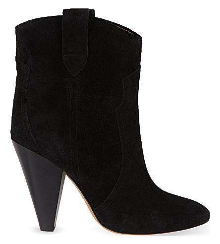 ISABEL MARANT ETOILE Roxann ankle boots (Black