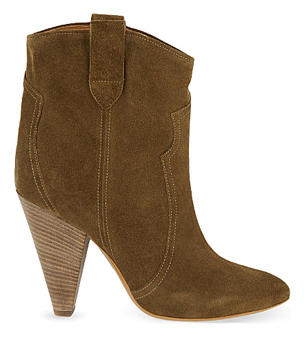 ISABEL MARANT Roxann ankle boots (Brown