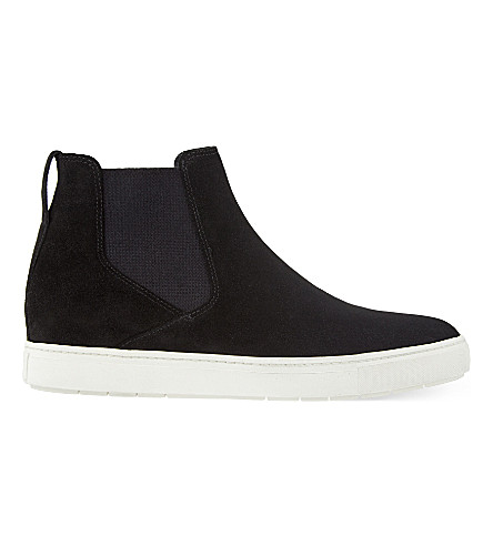 VINCE Newlyn suede Chelsea boots (Black