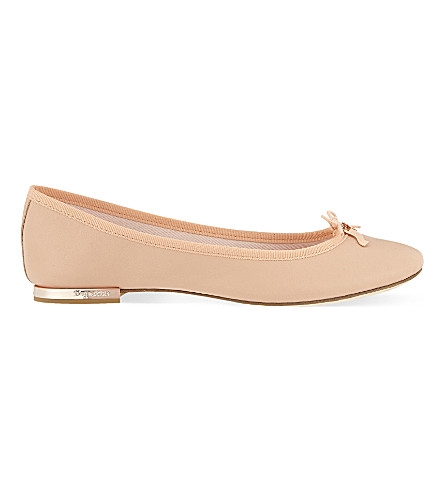 REPETTO Cecile leather ballet flats (Pale pink
