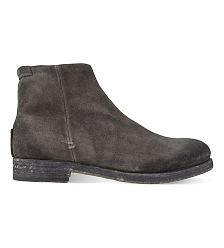 NDC Janis suede ankle boots (Grey