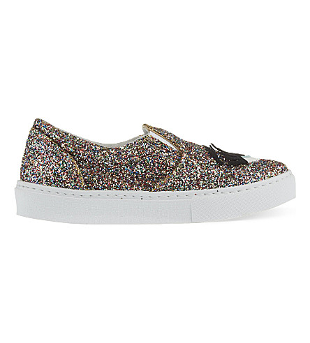 CHIARA FERRAGNI Flirting slip-on skater plimsolls (Mult/other