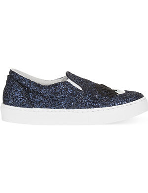 CHIARA FERRAGNI Flirting glitter skate shoes