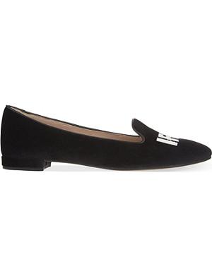 CHIARA FERRAGNI I feel velvet slippers