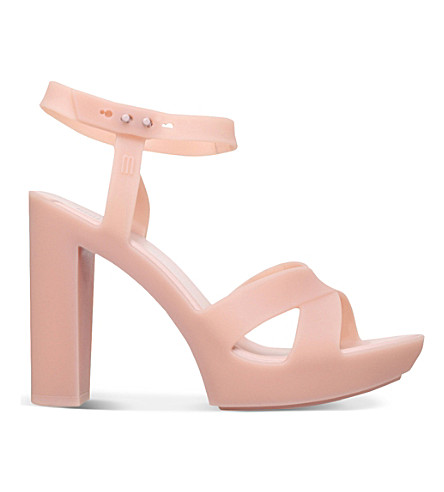 MELISSA Classic Lady PVC heeled sandals (Nude