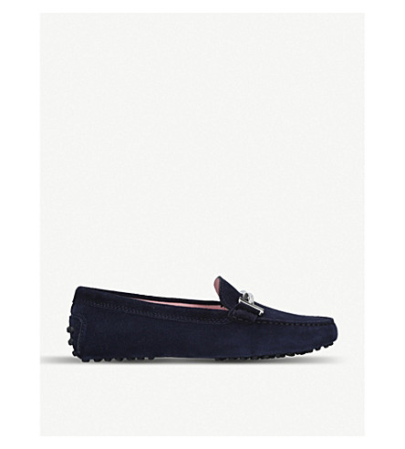 TODS Gommini driving shoes (Mid+blue