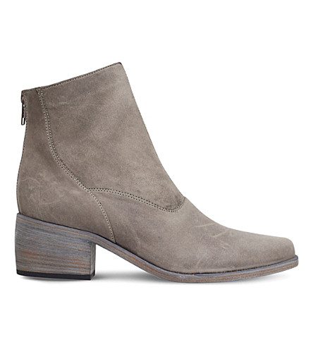 LD TUTTLE The Door leather boots (Grey