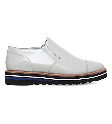 VINCE 邦劳岛阿洛纳专利皮革牛津鞋履 (冬季 + 西隧