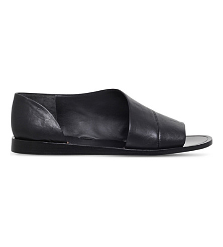 VINCE Tabitha leather sandals (Black