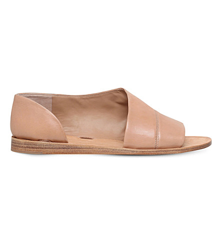 VINCE Tabitha leather sandals (Beige