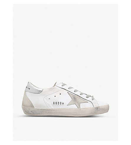 GOLDEN GOOSE Superstar W77 leather trainers (White/oth