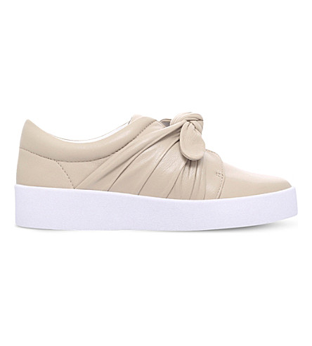 SENSO Annie leather slip-on trainers (Beige