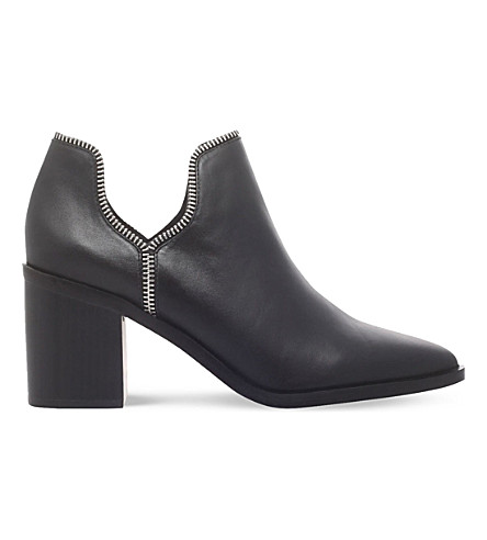 SENSO Huntley I zip-detail leather boots (Black