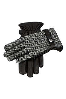 DENTS Leather and suede gloves