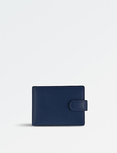 DENTS RFID protection leather cardholder wallet
