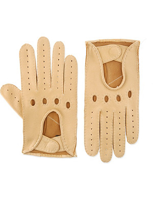 DENTS Deerskin driving gloves