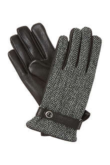 DENTS Tweed back gloves