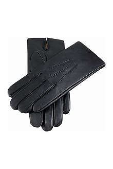 DENTS Leather cashmere-lined glove