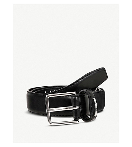 DENTS Lined belt (Black