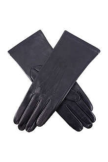 DENTS English cashmere-lined leather gloves