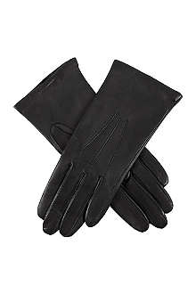 DENTS Classic cashmere-lined leather gloves