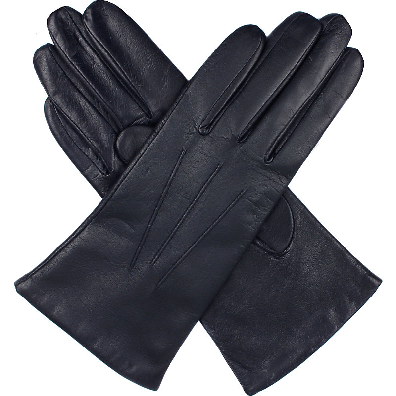 DENTS | Cashmere-Lined Leather Gloves | Goxip