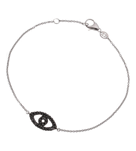 THEO FENNELL 18ct white-gold and diamond bracelet