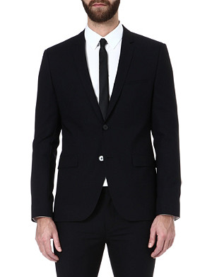 HUGO BOSS Adris single-breasted jacket