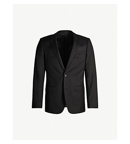 BOSS Hayes wool jacket (Black