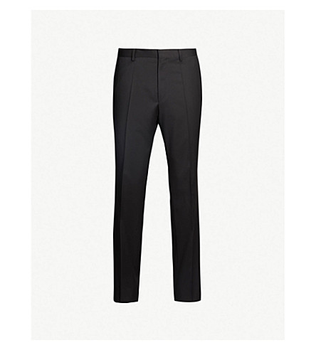 BOSS Gibson wool trousers (Black
