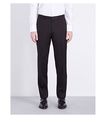 BOSS Gibson wool pants (Black