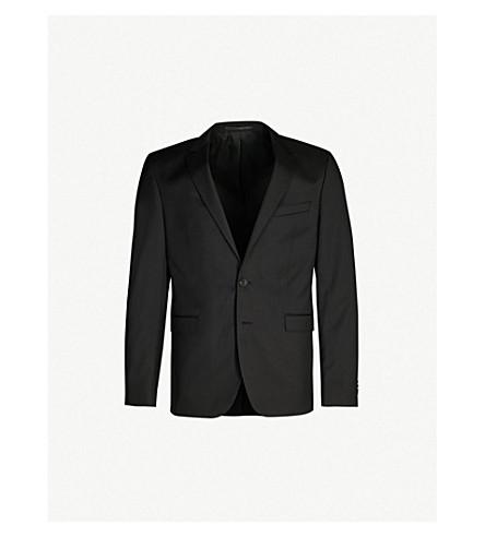 BOSS 瑞安羊毛夹克 (黑色