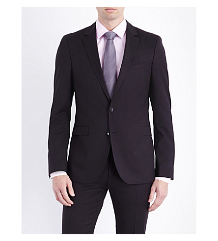 BOSS Ryan wool jacket (Black
