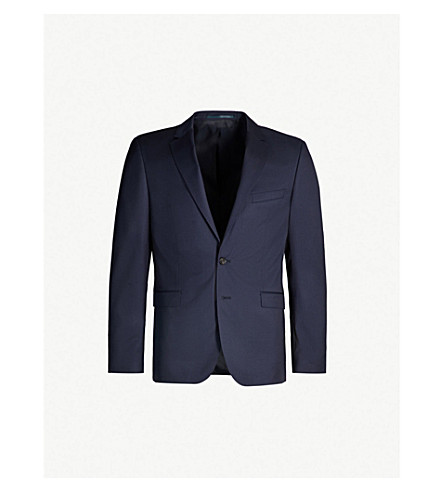 BOSS Ryan wool blazer (Dark blue