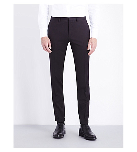 BOSS Wave wool trousers (Black