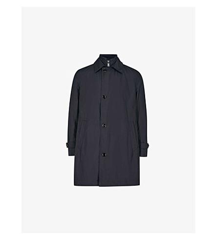 BOSS Double-collar shell coat (Navy
