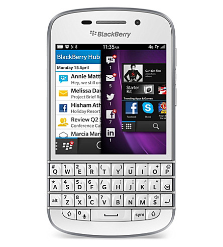 BLACKBERRY BlackBerry Q10 smartphone
