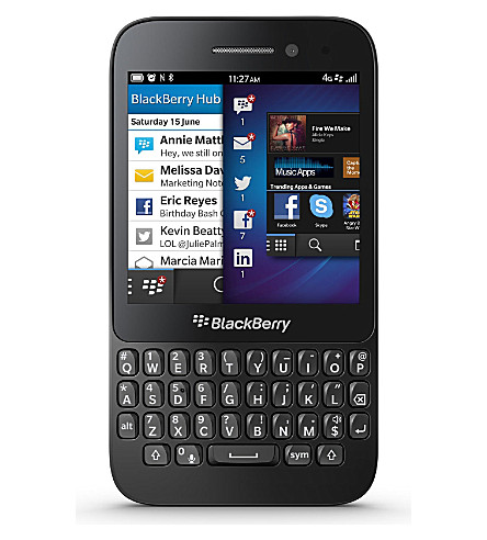 BLACKBERRY BlackBerry Q5 smartphone (Black
