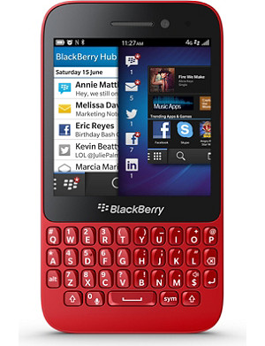 BLACKBERRY BlackBerry Q5 smartphone